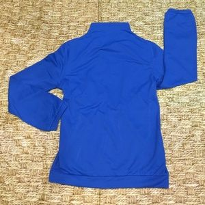 **NWOT Oilin Blouse Size Small Blue Long Sleeve